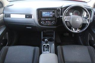 2016 Mitsubishi Outlander LS LS Red Constant Variable Wagon.