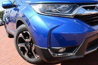 2018 Honda CR-V RW MY18 VTi-L FWD Brilliant Sporty Blue 1 Speed Constant Variable Wagon.