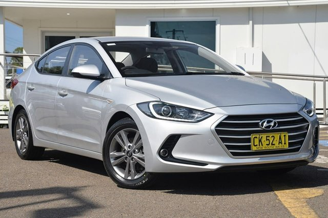 Used Hyundai Elantra AD MY17 Active, 2016 Hyundai Elantra AD MY17 Active Silver 6 Speed Sports Automatic Sedan