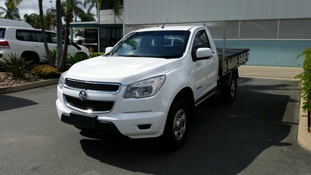 Used Holden Colorado RG MY14 LX 4x2, 2014 Holden Colorado RG MY14 LX 4x2 Summit White 6 Speed Sports Automatic Cab Chassis