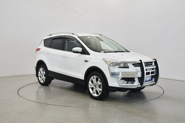 Used Ford Kuga TF MY16.5 Trend AWD, 2016 Ford Kuga TF MY16.5 Trend AWD White 6 Speed Sports Automatic Wagon