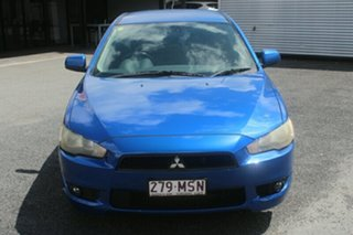 2007 Mitsubishi Lancer CJ MY08 VR Blue 5 Speed Manual Sedan.