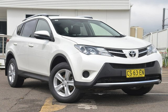 Used Toyota RAV4 ALA49R GXL AWD, 2013 Toyota RAV4 ALA49R GXL AWD White 6 Speed Sports Automatic Wagon