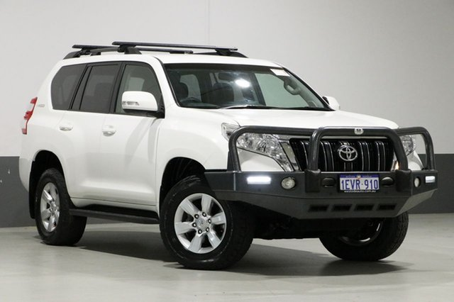 Used Toyota Landcruiser Prado GDJ150R MY16 GXL (4x4), 2015 Toyota Landcruiser Prado GDJ150R MY16 GXL (4x4) White 6 Speed Manual Wagon