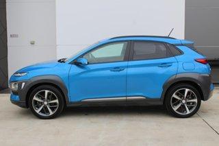 2017 Hyundai Kona Highlander Highlander Blue Sports Automatic Dual Clutch Wagon