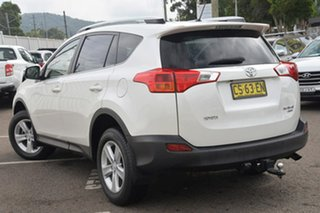 2013 Toyota RAV4 ALA49R GXL AWD White 6 Speed Sports Automatic Wagon.