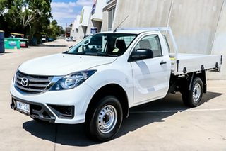 2018 Mazda BT-50 UR0YE1 XT 4x2 Hi-Rider Cool White 6 Speed Sports Automatic Cab Chassis