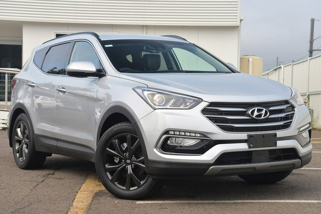 Used Hyundai Santa Fe DM5 MY18 Active X 2WD, 2017 Hyundai Santa Fe DM5 MY18 Active X 2WD Silver 6 Speed Sports Automatic Wagon