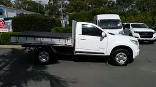 2014 Holden Colorado RG MY14 LX 4x2 Summit White 6 Speed Sports Automatic Cab Chassis