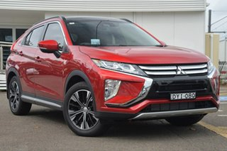 2017 Mitsubishi Eclipse Cross YA MY18 Exceed 2WD Maroon 8 Speed Constant Variable Wagon