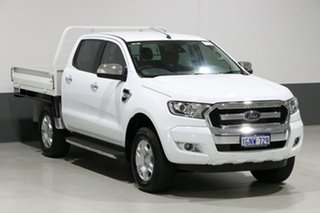 2017 Ford Ranger PX MkII MY18 XLT 3.2 (4x4) White 6 Speed Automatic Dual Cab Utility