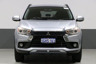 2017 Mitsubishi ASX XC MY17 LS (2WD) Silver Continuous Variable Wagon.