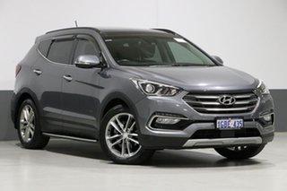 2016 Hyundai Santa Fe DM SER II (DM3) Update Highlander CRDi (4x4) Silver 6 Speed Automatic Wagon.