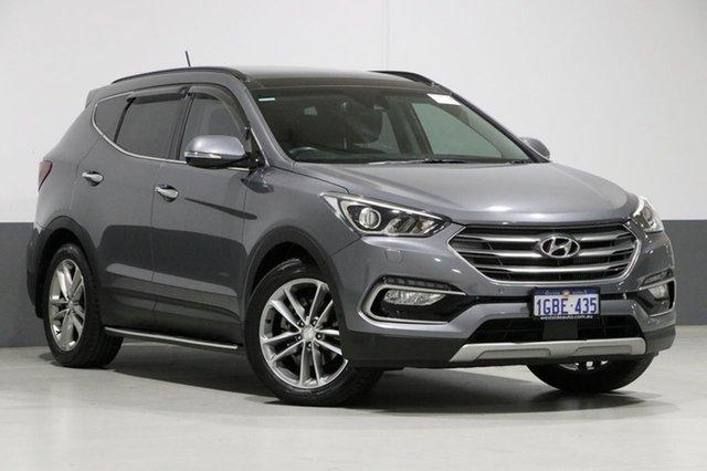 Used Hyundai Santa Fe DM SER II (DM3) Update Highlander CRDi (4x4), 2016 Hyundai Santa Fe DM SER II (DM3) Update Highlander CRDi (4x4) Silver 6 Speed Automatic Wagon