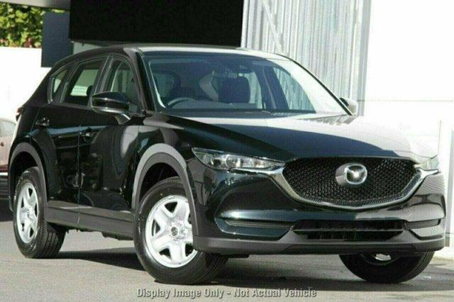 New Mazda CX-5 KF2W7A Maxx SKYACTIV-Drive FWD, 2018 Mazda CX-5 KF2W7A Maxx SKYACTIV-Drive FWD Jet Black 6 Speed Sports Automatic Wagon