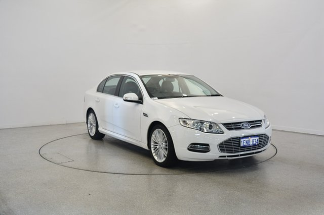 Used Ford Falcon FG G6E, 2011 Ford Falcon FG G6E White 6 Speed Sports Automatic Sedan