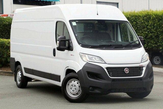 New Fiat Ducato Series 6 Mid Roof LWB Comfort-matic, 2018 Fiat Ducato Series 6 Mid Roof LWB Comfort-matic White 6 Speed Sports Automatic Single Clutch