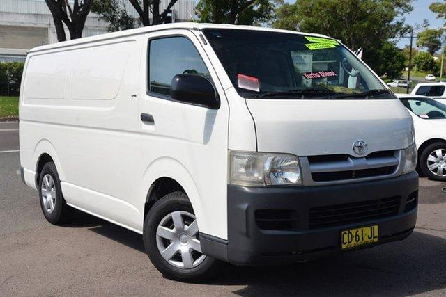 Used Toyota Hiace KDH201R LWB, 2007 Toyota Hiace KDH201R LWB White 5 Speed Manual Van