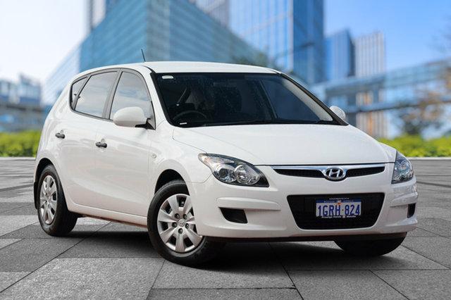 Used Hyundai i30 FD MY11 SX, 2011 Hyundai i30 FD MY11 SX White 4 Speed Automatic Hatchback