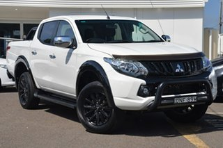 2017 Mitsubishi Triton MQ MY17 GLS Double Cab Sports Edition Starlight 5 Speed Sports Automatic.