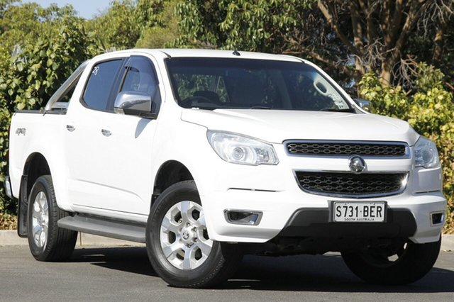 Used Holden Colorado RG MY15 LTZ Crew Cab 4x2, 2014 Holden Colorado RG MY15 LTZ Crew Cab 4x2 White 6 Speed Sports Automatic Utility