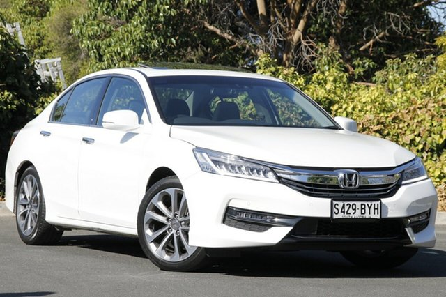 Used Honda Accord 9th Gen MY17 VTi-L, 2017 Honda Accord 9th Gen MY17 VTi-L White Orchid 5 Speed Sports Automatic Sedan