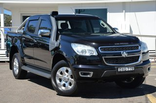 2016 Holden Colorado RG MY16 LTZ Crew Cab Black 6 Speed Sports Automatic Utility.