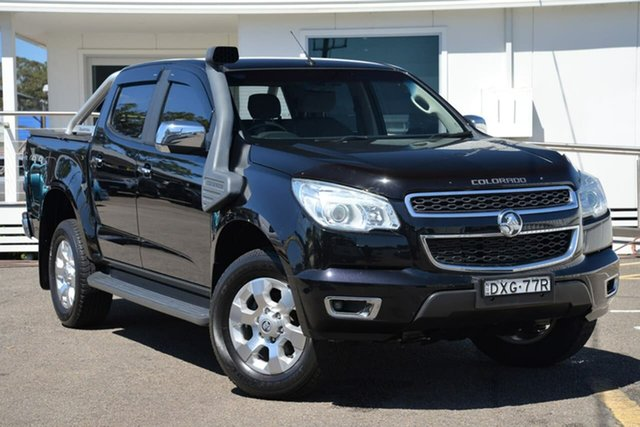 Used Holden Colorado RG MY16 LTZ Crew Cab, 2016 Holden Colorado RG MY16 LTZ Crew Cab Black 6 Speed Sports Automatic Utility