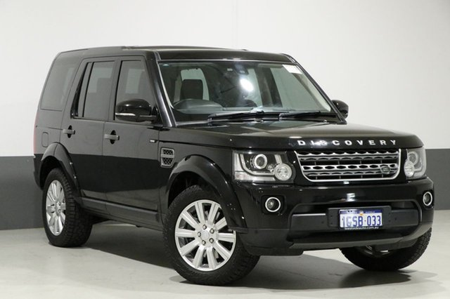 Used Land Rover Discovery MY16 3.0 TDV6, 2015 Land Rover Discovery MY16 3.0 TDV6 Black 8 Speed Automatic Wagon