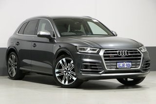 2017 Audi SQ5 FY MY17 3.0 TFSI Quattro Daytona Grey 8 Speed Automatic Tiptronic Wagon.