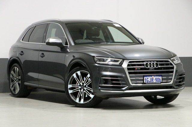 Used Audi SQ5 FY MY17 3.0 TFSI Quattro, 2017 Audi SQ5 FY MY17 3.0 TFSI Quattro Daytona Grey 8 Speed Automatic Tiptronic Wagon