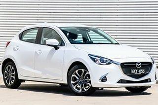 2018 Mazda 2 DJ2HAA Genki SKYACTIV-Drive Snowflake White Pearl 6 Speed Sports Automatic Hatchback.