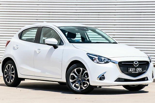 Demo Mazda 2 DJ2HAA Genki SKYACTIV-Drive, 2018 Mazda 2 DJ2HAA Genki SKYACTIV-Drive Snowflake White Pearl 6 Speed Sports Automatic Hatchback