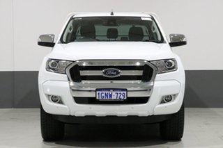 2017 Ford Ranger PX MkII MY18 XLT 3.2 (4x4) White 6 Speed Automatic Dual Cab Utility.