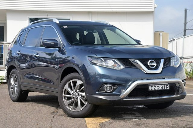 Used Nissan X-Trail T32 Ti X-tronic 4WD, 2016 Nissan X-Trail T32 Ti X-tronic 4WD Blue 7 Speed Constant Variable Wagon
