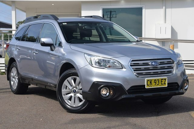 Used Subaru Outback B6A MY17 2.0D CVT AWD, 2016 Subaru Outback B6A MY17 2.0D CVT AWD Silver 7 Speed Constant Variable Wagon