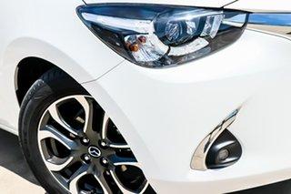 2018 Mazda 2 DJ2HAA Genki SKYACTIV-Drive Snowflake White Pearl 6 Speed Sports Automatic Hatchback
