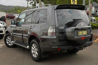 2012 Mitsubishi Pajero NW MY12 Platinum Graphite Grey 5 Speed Sports Automatic Wagon.