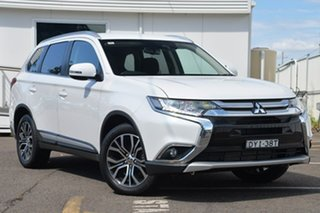 2017 Mitsubishi Outlander LS - Safety Pack LS - Safety Pack White 6 Speed Sports Automatic Wagon.