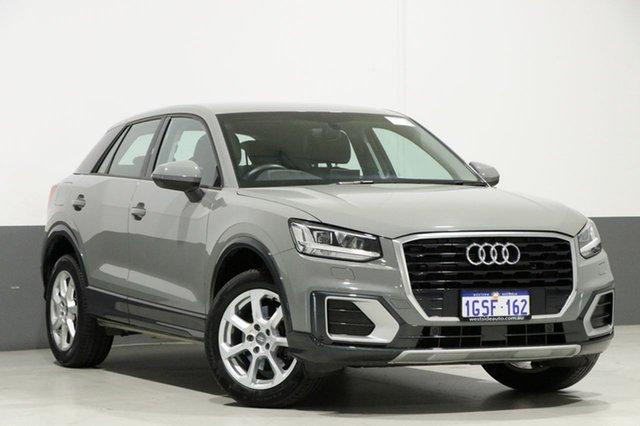 Used Audi Q2 GA MY18 1.4 TFSI Design, 2017 Audi Q2 GA MY18 1.4 TFSI Design Quantum Grey 7 Speed Auto S-Tronic Wagon