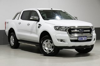 2018 Ford Ranger PX MkII MY18 XLT 3.2 (4x4) White 6 Speed Automatic Dual Cab Utility.