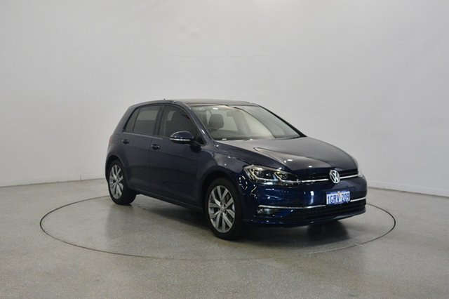 Used Volkswagen Golf 7.5 MY18 110TSI DSG Highline, 2018 Volkswagen Golf 7.5 MY18 110TSI DSG Highline Atlantic Blue 7 Speed Sports Automatic Dual Clutch