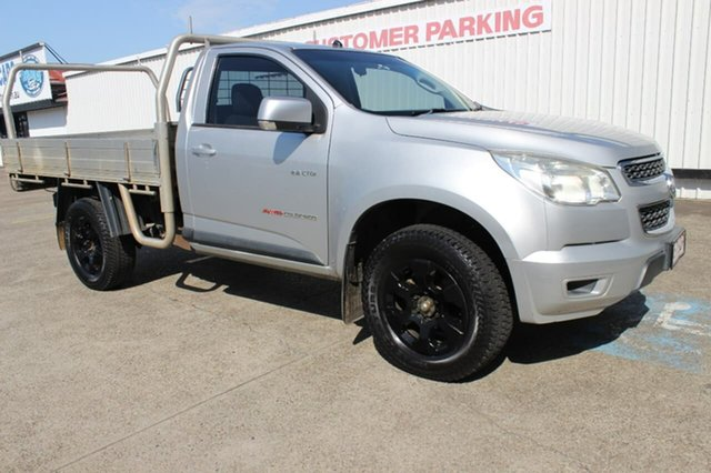 Used Holden Colorado RG MY13 LX, 2013 Holden Colorado RG MY13 LX Silver 5 Speed Manual Cab Chassis