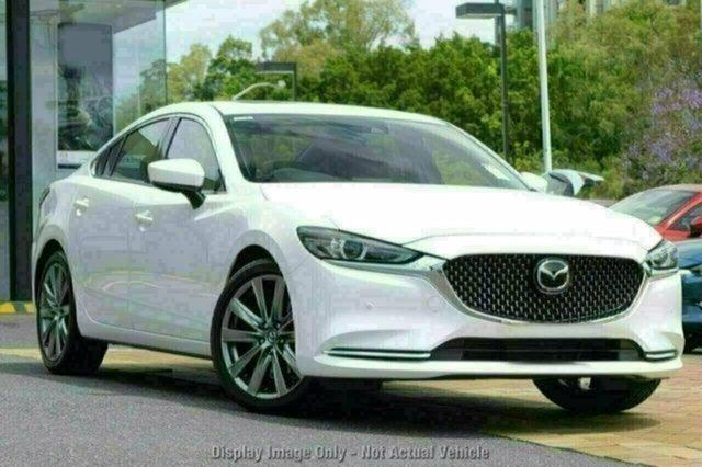New Mazda 6 GL1022 Atenza SKYACTIV-Drive, 2018 Mazda 6 GL1022 Atenza SKYACTIV-Drive White Pearl 6 Speed Sports Automatic Sedan