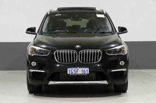 2017 BMW X1 F48 MY17 xDrive 25I Black 8 Speed Automatic Wagon.