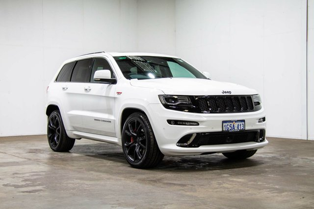 Used Jeep Grand Cherokee WK MY15 SRT, 2016 Jeep Grand Cherokee WK MY15 SRT Bright White 8 Speed Sports Automatic Wagon