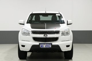 2015 Holden Colorado RG MY15 LS (4x4) White 6 Speed Automatic Spacecab.