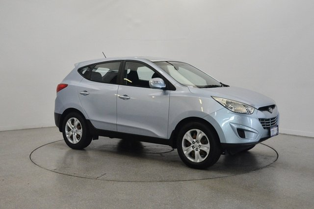 Used Hyundai ix35 LM Active, 2010 Hyundai ix35 LM Active Blue Ice 6 Speed Sports Automatic Wagon