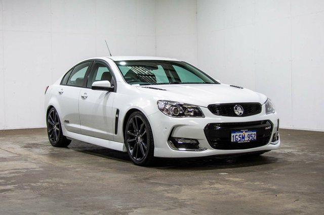 Used Holden Commodore VF II MY16 SS, 2016 Holden Commodore VF II MY16 SS White 6 Speed Manual Sedan