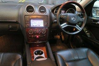 2008 Mercedes-Benz ML500 W164 MY09 Sports Luxury Black 7 Speed Sports Automatic Wagon.
